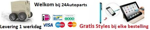 Bestel eenvoudig en voordelig al je autolampen bij 24Autoparts